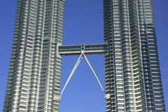 Petronas Twin Towers, Kuala Lumpur, Malaysia Royalty Free Stock Photos