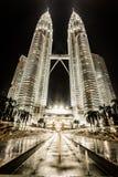 Petronas Twin Towers in Kuala Lumpur, Malaysia Stock Image