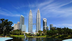 Petronas Twin Towers. Stock Image