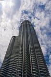 Petronas Twin Towers. In Kuala Lumpur, Malaysia royalty free stock photography