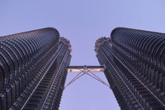Petronas Twin Towers Royalty Free Stock Photography