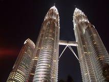 Petronas Twin Towers in Kuala Lumpur, Malaysia Royalty Free Stock Image