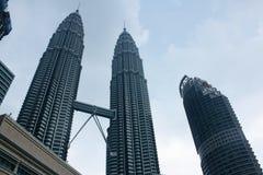 Petronas Twin Towers. In Kuala Lumpur Malaysia Royalty Free Stock Images