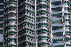 Petronas Twin Towers at Kuala Lumpur, Malaysia. Stock Images