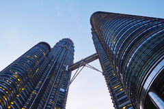 Petronas Twin Towers Stock Photos