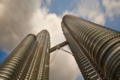 Petronas Twin Towers Royalty Free Stock Photos