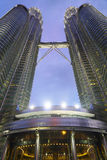 Petronas Twin Towers Stock Photo