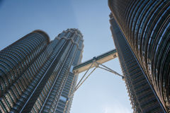 Petronas Twin Towers Stock Photography