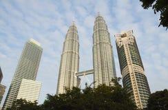Petronas Twin Towers, Kuala Lumpur Royalty Free Stock Photography