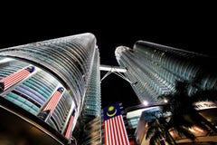 Petronas Twin Towers in Kuala Lumpur, Malaysia Royalty Free Stock Photos