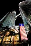 Petronas Twin Towers in Kuala Lumpur, Malaysia Royalty Free Stock Photo