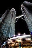 Petronas Twin Towers in Kuala Lumpur, Malaysia Stock Photos