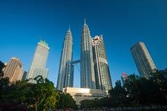 Petronas Twin Towers in Malaysia Royalty Free Stock Image