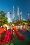 Petronas Twin Towers in Malaysia Stock Photos