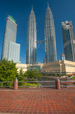 Petronas Twin Towers in Malaysia Stock Images