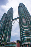 Petronas Twin Towers in Malaysia. Stock Photography