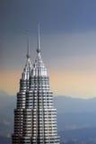 Petronas Twin Towers in Malaysia, Kuala Lumpur Stock Photo
