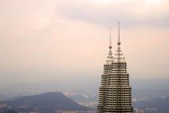 Petronas Twin Towers in Malaysia, Kuala Lumpur Royalty Free Stock Image