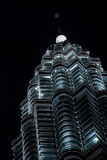 Petronas twin towers in the night Royalty Free Stock Images