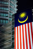 Petronas twin towers noc obraz stock