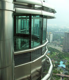 Petronas Twin Towers office Stock Photography