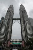 Kuala Lumpur and Petronas Twin Towers Royalty Free Stock Images