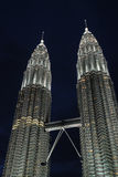 The Petronas Twin Towers were the tallest building Stock Photo
