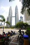 Petronas twins tower Royalty Free Stock Photos