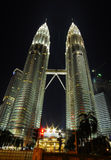 Petronas twins tower Stock Photos