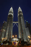 Petronas twins tower Royalty Free Stock Photography