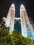Petronas twins tower Royalty Free Stock Images