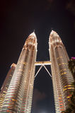 Petronas twins tower Stock Image