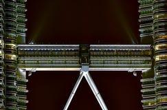 Petronas Twins Towers footbridge Stock Image