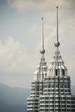 petronas wieże obraz royalty free