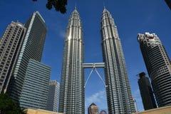 Petronastorens Kuala Lampur Malaysia stock fotografie
