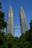 Petronastorens Kuala Lampur Malaysia royalty-vrije stock foto