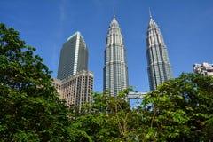 Petronastorens Kuala Lampur Malaysia royalty-vrije stock afbeeldingen