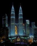 Petronastorens van Kuala Lampur stock afbeelding