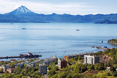 Petropavlovsk-Kamchatsky Stock Photo