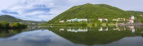 City landscape of Petropavlovsk-Kamchatsky Royalty Free Stock Photos