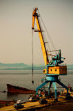 Petropavlovsk-Kamchatsky, seaport Royalty Free Stock Photo