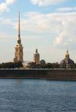 Petropavlovskaya fästning Arkivfoton