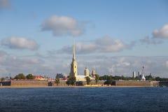 Petropavlovskaya fästning Royaltyfri Fotografi