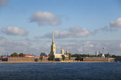 Petropavlovskaya fortress. The Peter and Paul Fortress, St. Petersburg, Russia Royalty Free Stock Photography
