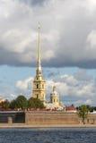Petropavlovskaya fortress3 royalty-vrije stock afbeelding