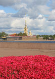 Petropavlovskaya fortress4 stock foto