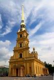 petropavlovskaya katedralna forteczna świątynia zdjęcie royalty free