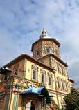 Petropavlovskiy大教堂在喀山 免版税图库摄影