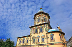 Petropavlovskiy domkyrka i Kazan Royaltyfri Fotografi