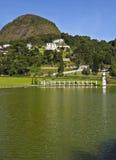 Petropolis在巴西 免版税库存图片